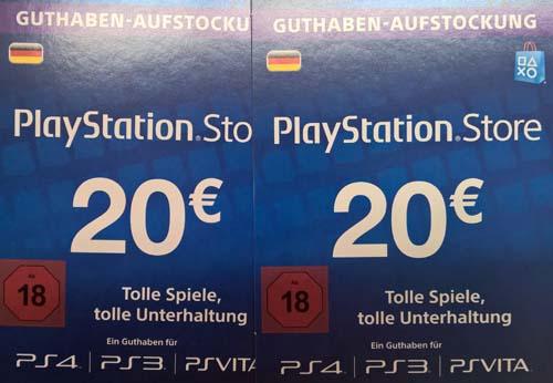 Playstation Karte.Guthben Kristantosoft