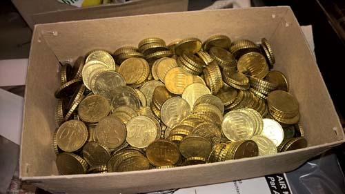 780 Zehn Cent Münzen Der Shopblogger