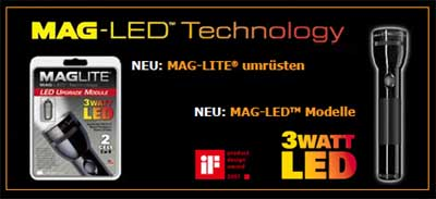maglite led vs zweibr der x21 der shopblogger. Black Bedroom Furniture Sets. Home Design Ideas